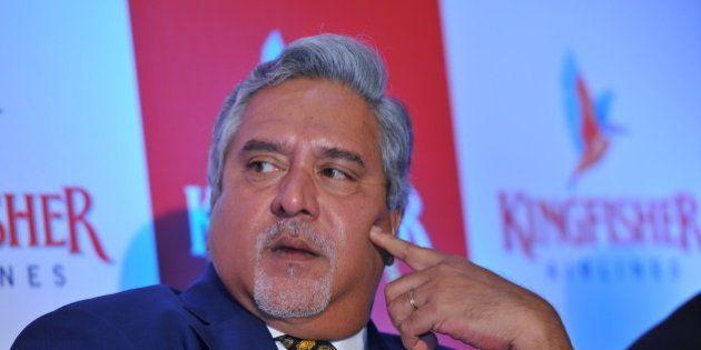 MUMBAI, INIDA NOVEMBER 15: Vijay Mallya, Chairman of Kingfisher Airlines at press conference to announce...