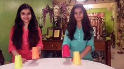 WATCH: Indian Sisters Work Magic In This Cups Version Of 'Humma