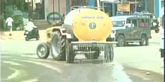 Drought Be Damned, Tankers Shower Water On Road Ahead Of CM's Visit To Parched Karnataka