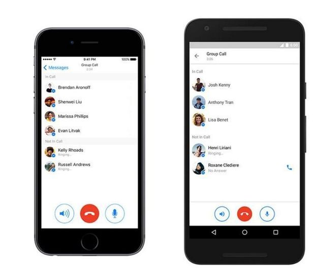 Facebook Messenger Introduces Group Calling For Upto 50