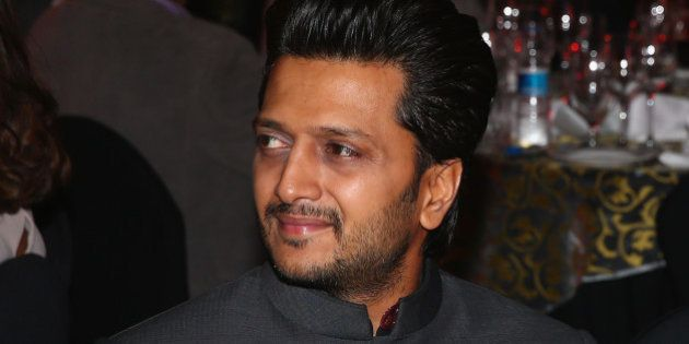 DELHI, INDIA - DECEMBER 07: Riteish Deshmukh at the Coca-Cola gala dinner during the Coca-Cola International...