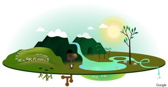 Here Are 7 Years Of Google's Breathtaking Earth Day