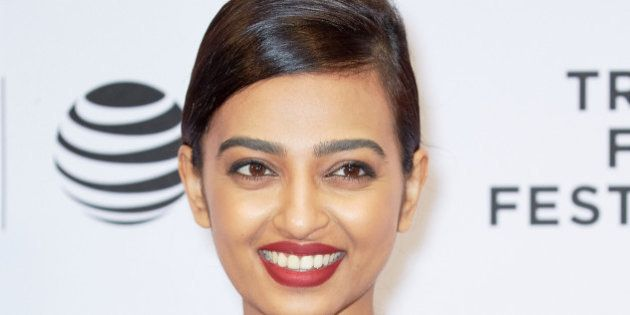 NEW YORK, NY - APRIL 14: Radhika Apte at 'Madly' Premiere - 2016 Tribeca Film Festival at Chelsea Bow...