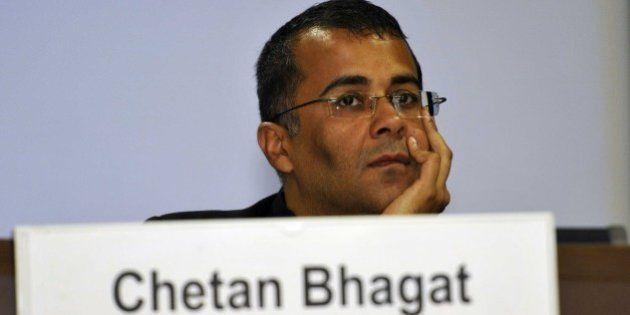 NEW DELHI, INDIA - JUNE 2: Author Chetan Bhagat during a conclave Sampark, Samanvya avam Samvad (Connect,...