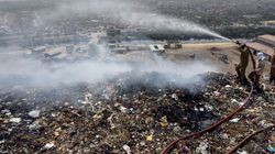 Air Quality Plunges In Delhi As City Chokes In Dump Yard