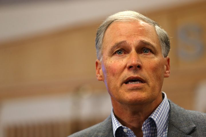 Jay Inslee won a second term as the Evergreen State's governor in 2016.