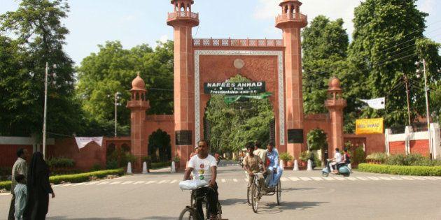INDIA - SEPTEMBER 09: View of the Aligarh Muslim University Campus in Uttar Pradesh, India (Photo by...