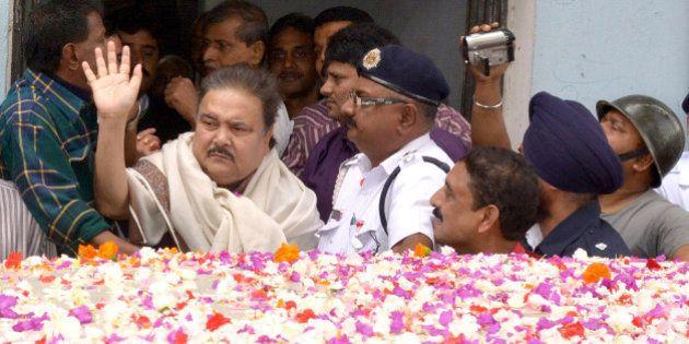 KOLKATA, INDIA - JANAURY 2: Madan Mitra, West Bengal Transport Minister (Trinamool Congress), Produced...