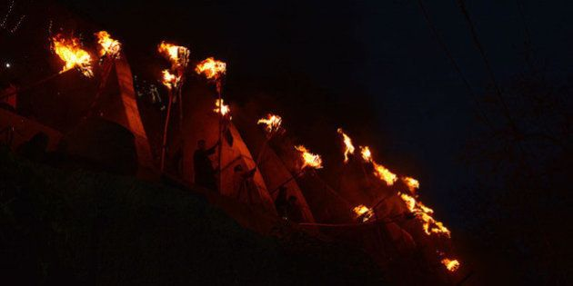 Photoblog: Fanning The Flames Of Faith At Aishmuqam Torch