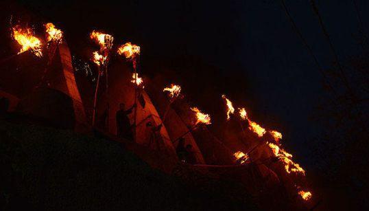 Photoblog: Fanning The Flames Of Faith At Aishmuqam Torch
