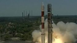 ISRO Launches Navigation Satellite IRNSS-1G From