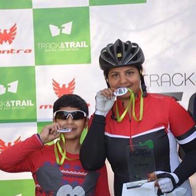 Lazreena Bajaj's Journey From Partial Paralysis To National Level Cycling Is