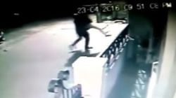 WATCH: Shocking CCTV Footage Of Bengaluru Woman Escaping