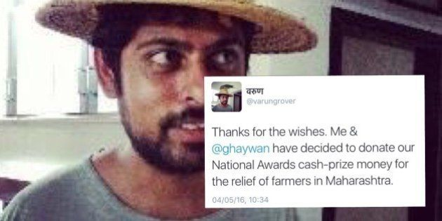 Lyricist-Writer Varun Grover And Director Neeraj Ghaywan To Donate Prize Money For Relief Of Farmers...