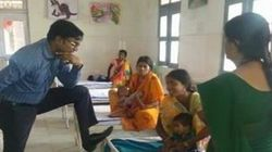 Photo Of Chhattisgarh IAS Officer With A Foot On A Hospital Bed Goes