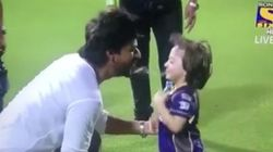 Awwdorable! This Video Of AbRam Goofing Around With Daddy SRK Will Melt Your