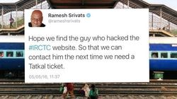Everyone Has A Wisecrack About The 'Slow' Website Of The Indian Railways