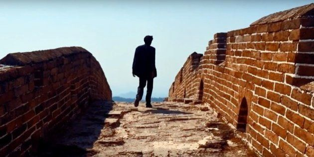 WATCH: Indie Act Peter Cat Recording Co. Release New Music Video Shot On The Great Wall Of