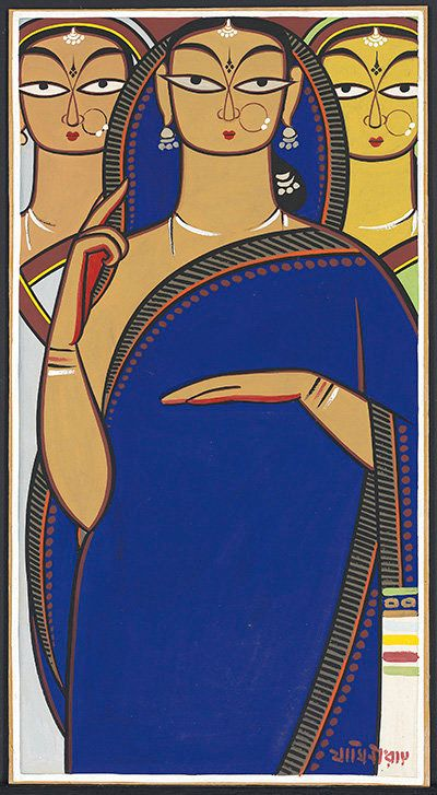 Jamini Roy And The Beauty Of The Calcutta