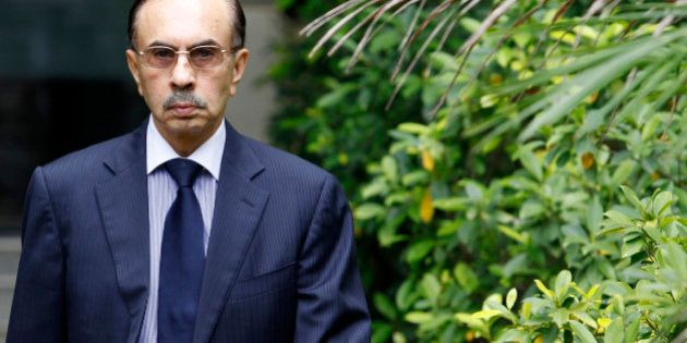 Adi Godrej, chairman of Godrej Industries Ltd., arrives to attend an interview with Reuters in Mumbai...
