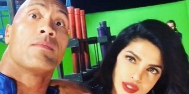 WATCH: Priyanka Chopra 'Gets It On' With Dwayne Johnson In This New 'Baywatch'