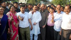 Nine Rebel Congress MLAs From Uttarakhand Join