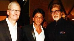 SRK Hosted A Starry Bash For Apple CEO Tim Cook At Mannat Last