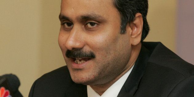India's Health & Family Welfare Minister Anbumani Ramadoss speaks during a news conference, ahead of...