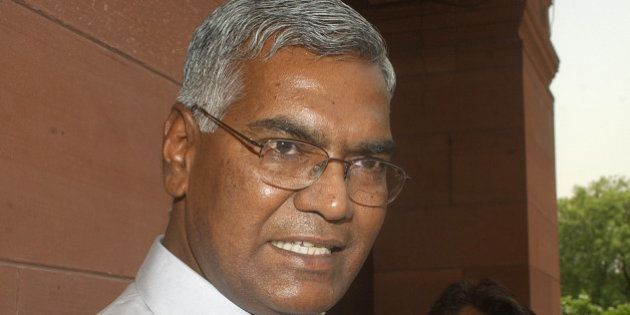 Communist Party of India (CPI) leader D. Raja speaks to the media about his party's views on reservation...