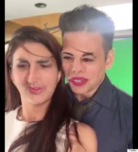 Jacqueline Fernandez And Akshay Kumar's Eerie Face Swap Is Bound To Give You Sleepless