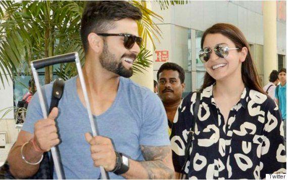PHOTOS: Anushka Sharma And Virat Kohli Are Back To Chilling