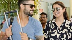 These Pictures Of Anushka Sharma And Virat Kohli Hint At A Happy