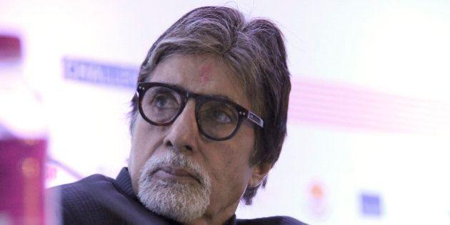 GURGAON, INDIA - NOVEMBER 20: Bollywood actor Amitabh Bachchan during the launch of the TB free Haryana...
