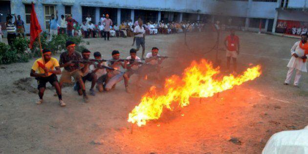 Bajrang Dal Leader Arrested After FIR Over Arms Training In