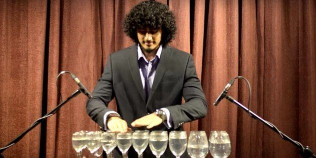 WATCH: Gaurav Kotian Covers 'Roop Tera Mastana' And Other Songs On A Glass