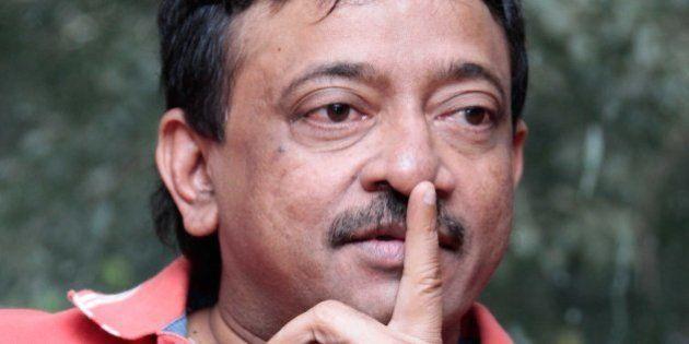 NEW DELHI, INDIA - NOVEMBER 6: Indian Bollywood filmmaker Ram Gopal Varma during an exclusive interview...