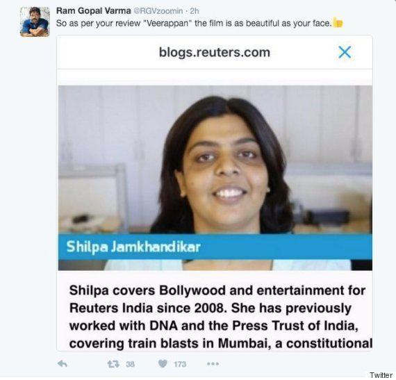 In One Tweet, Ram Gopal Varma Proves He's The Biggest Sexist Douchebag
