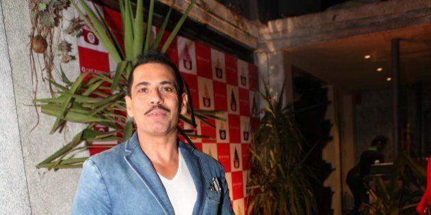 NEW DELHI, INDIA - FEBRUARY 17: Entrepreneur Robert Vadra at Red Mango Anniversary Party at Ludus, Saket...