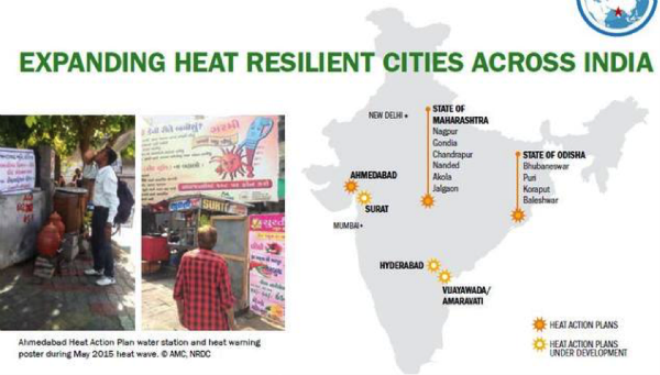 A Tale Of Three Cities: Heat Action Plans Combat Soaring