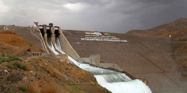 HERAT, AFGHANISTAN - JUNE 04: A general view of the Salma Dam which was opened by the President of Afghanistan...