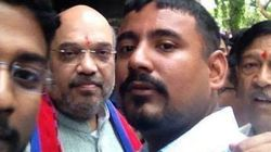 Kanhaiya Kumar's 'Attacker' Hangs Out With BJP Chief Amit Shah, Posts