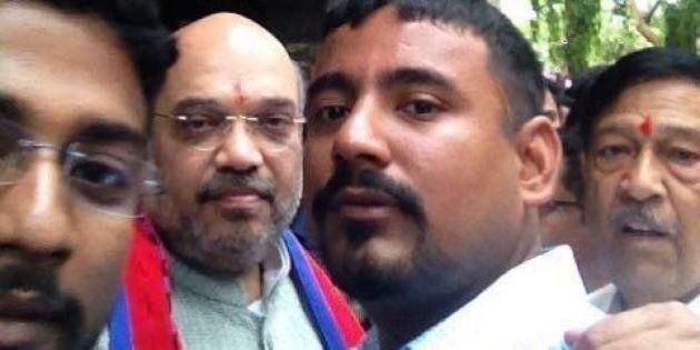 Kanhaiya Kumar's 'Attacker' Hangs Out With BJP Chief Amit Shah, Posts