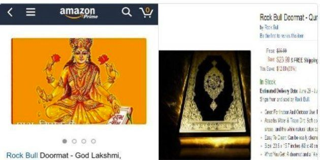 Amazon Removes Doormats With Images Of Hindu Gods After Protests And Call For