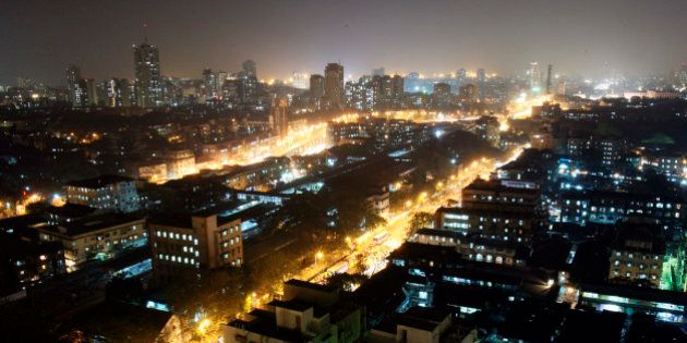 An aerial view of a central district of Mumbai December 22, 2006. As global firms and some of their overseas...