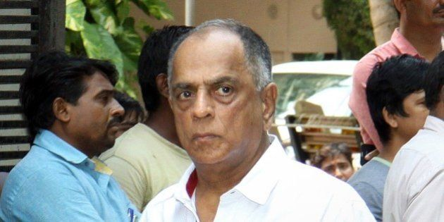 Indian Bollywood film producer and present Chairperson of the Central Board, Pahlaj Nihalani attends...