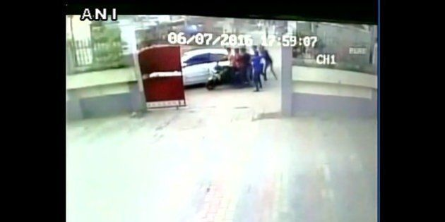 CCTV Captures Teenage Boy's Abduction In Broad Day Light In
