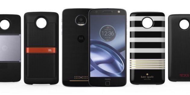Motorola Launches Moto Z And Moto Z Force Modular