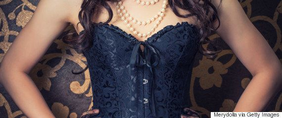 Corsets Are For Flaunting, Not