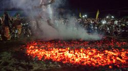 Father Drops Six-Year-Old Son On Hot Coals While Performing Hindu