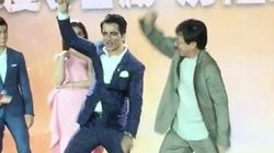 Jackie Chan Grooving To 'Tunak Tunak Tun' With Sonu Sood Is The Most Hilarious Thing You'll See